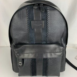 New Coach Large Campus Buffalo Leather Backpack